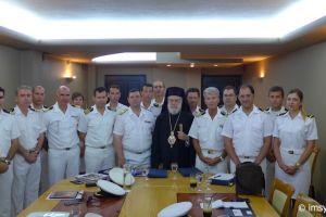 Ο Σύρου Δωρόθεος στη συνάντηση Λιμεναρχών Κυκλάδων