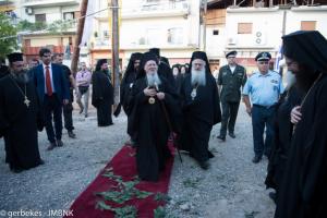 Βέροια: Πατριαρχική λειτουργία στην πανηγυρίζουσα παλαιά μητρόπολη
