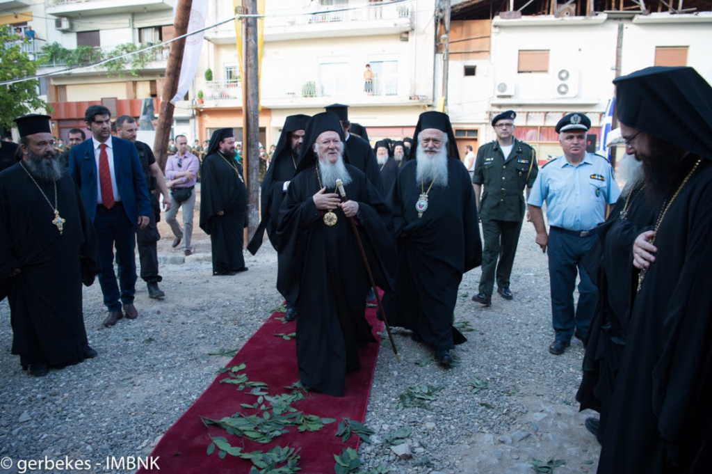 You are currently viewing Βέροια: Πατριαρχική λειτουργία στην πανηγυρίζουσα παλαιά μητρόπολη