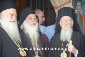 Ο Οικουμενικός Πατριάρχης στην Μονή Τιμίου Προδρόμου Βέροιας