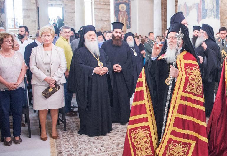 Το μήνυμα του Οικουμενικού Πατριάρχη από τη Βέροια  για τους διωγμούς χριστιανών