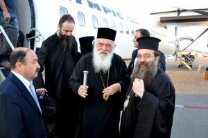 Στη Χίο ο Αρχιεπίσκοπος Ιερώνυμος