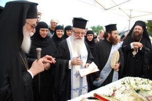 Η εξόδιος Ακολουθία του σεβαστού Γέροντος Ευγενίου Θεοδοσιάδη