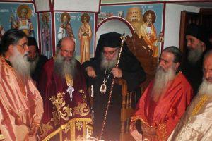 Ο Εδέσσης Ιωήλ στην πανήγυρη του Κελλιού των Αγ.Αναργύρων Αγίου Ορους