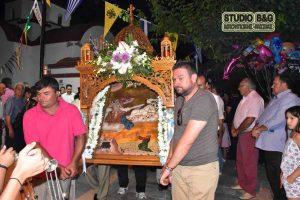 Η εορτή του Προφήτη Ηλία στο Βιβάρι Ναυπλίας