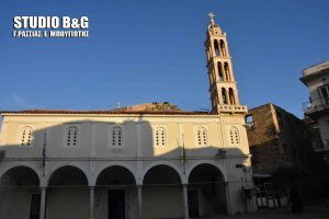 Καταρρέει ο Μητροπολιτικός ναός του Αγίου Γεωργίου στο Ναύπλιο