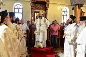 Αρχιερατική Θεία Λειτουργία στον Ιερό ναό Αγίας Παρασκευής Κολχικού Λαγκαδά