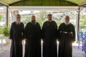 Άφιξη Αρχιερέων στη Φοινικούντα για τον εορτασμό της Παναγίας Τριχερούσας