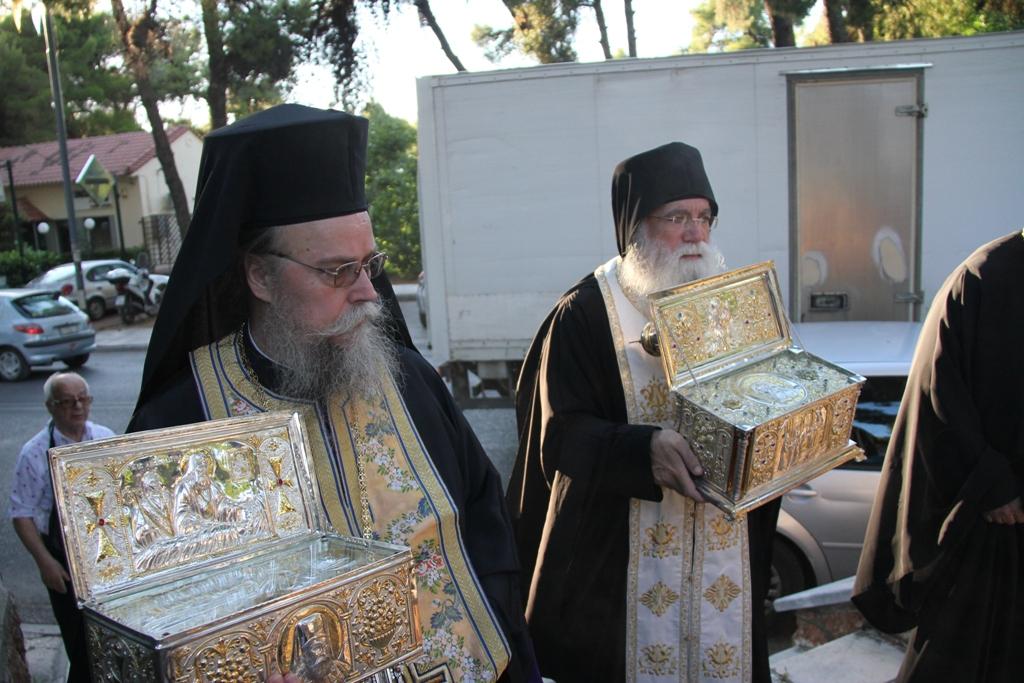 You are currently viewing Δύο Ρώσοι Άγιοι θα λαμπρύνουν την εορτή  της Αγίας  Μαρίνας Εκάλης