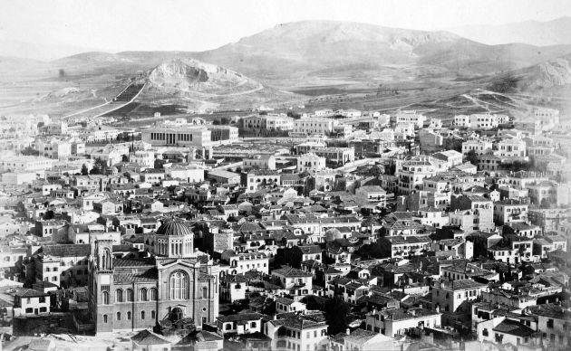 Τα εγκαίνια της εκκλησίας πραγματοποιήθηκαν 21 Μαΐου 1862. Φωτογράφος Κωνσταντινίδης, 1869.