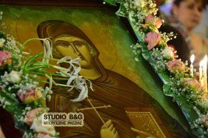 Η εορτή του θαύματος της Αγίας Ευφημίας στην Τίρυνθα Ναυπλίου