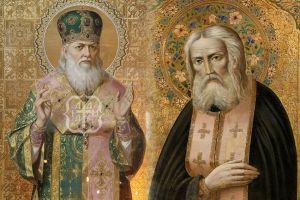 Τα Ιερά Λείψανα του Αγίου Λουκά του ιατρού και του Οσίου Σεραφείμ του Σαρώφ στον Ι.Ναό Αγίας Μαρίνης Εκάλης