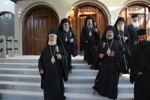 Πολυαρχιερατικό Συλλείτουργο για τον Άγιο Σεραφείμ στην ομώνυμη Μονή του  του Τρικόρφου Φωκίδος