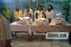 Η εορτή της Κοίμησης της Αγίας Άννας στο Τημένιο Άργους