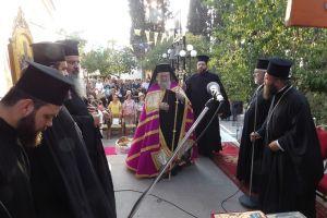 Πανηγυρικός εορτασμός της μνήμης των Αγίων Αναργύρων στην Αρχαία Κόρινθο