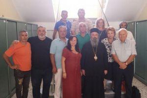 Στον Mητροπολίτη Δράμας Παύλο μέλη της Πρωτοβουλίας για την ενότητα του Ποντιακού Ελληνισμού