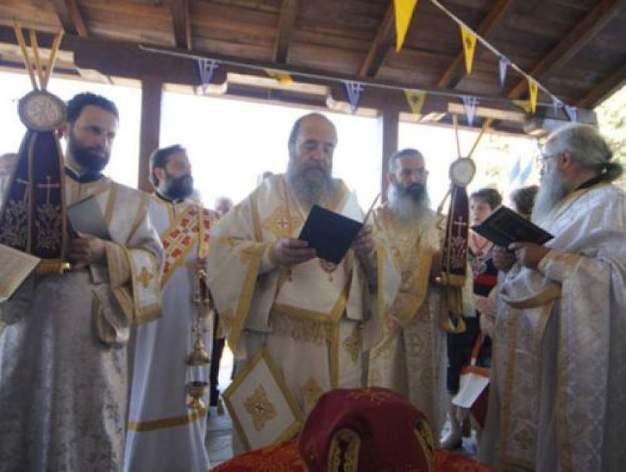 Εγκαίνια Παρεκκλησίου στα Γαβριάδια από τον Ιερισσού Θεόκλητο