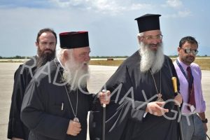 O Αρχιεπίσκοπος Ιερώνυμος στην Αλεξανδρούπολη