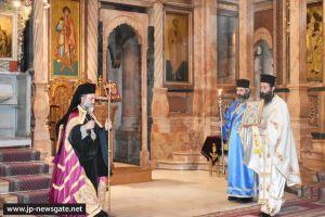 Η εορτή των εν Παλαιστίνη Αγίων στο Πατριαρχείο Ιεροσολύμων