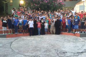 Ξεκίνησε η Γ΄ κατασκηνωτική περίοδος για την Μητρόπολη Δημητριάδος  στον Άγιο Λαυρέντιο