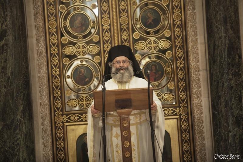 Το πρώτο ιερό κήρυγμα κατά την επαναλειτουργία του Καθεδρικού Ναού των Αθηνών