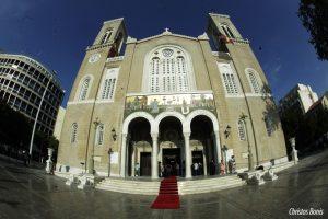 Θυρανύξια  και πανηγυρικός Εσπερινός στον  Καθεδρικό Ναό Αθηνών