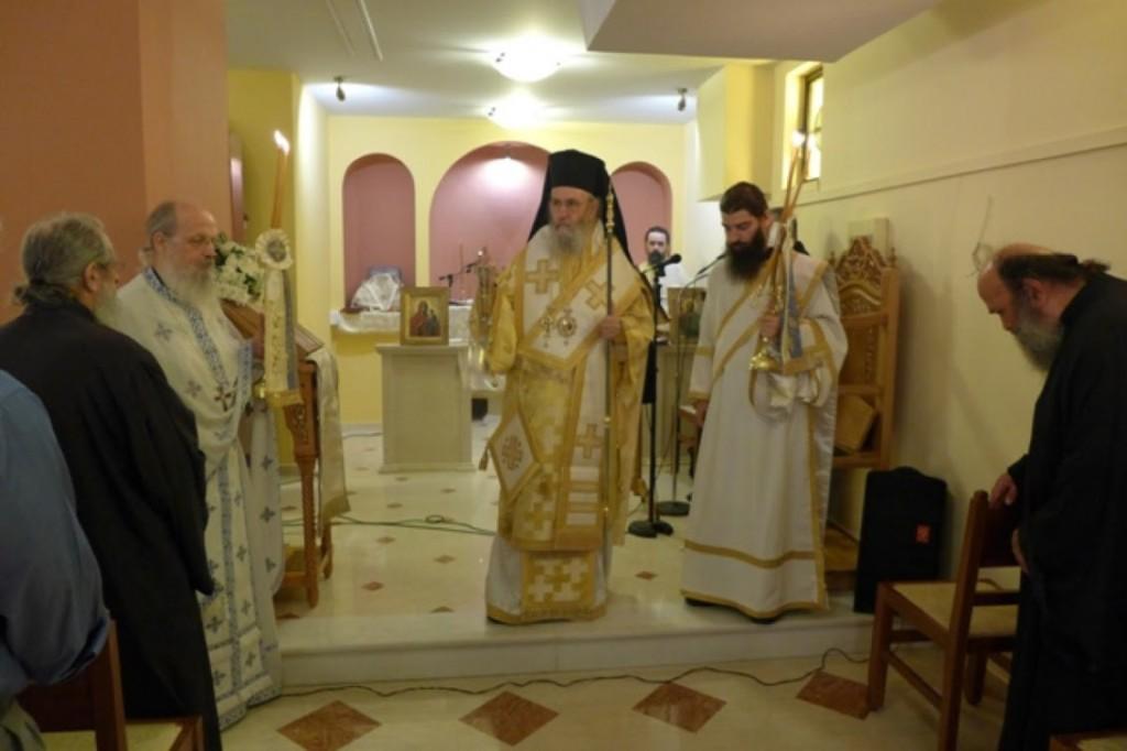 Καθιέρωση παρεκκλησίου για τον άγιο Παϊσιο στη Ναύπακτο