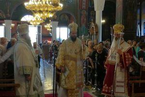 Ο Μητροπολίτης Νέας Ιωνίας Γαβριήλ προέστη της Ιεράς πανηγύρεως για την Αγία Κυριακή στην Αλεξανδρούπολη