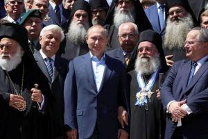 Το ευχαριστώ του Πούτιν για το προσκύνημα στο Άγιο Όρος