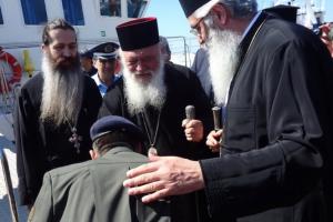 Μια διαφορετική επίσκεψη του  Αρχιεπισκόπου στην ακριτική Σαμοθράκη