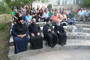 """Ο Θεσσαλιώτιδος Τιμόθεος στην κατασκήνωση της """"Χριστιανικής Αγωγής"""" Κερασιάς"""