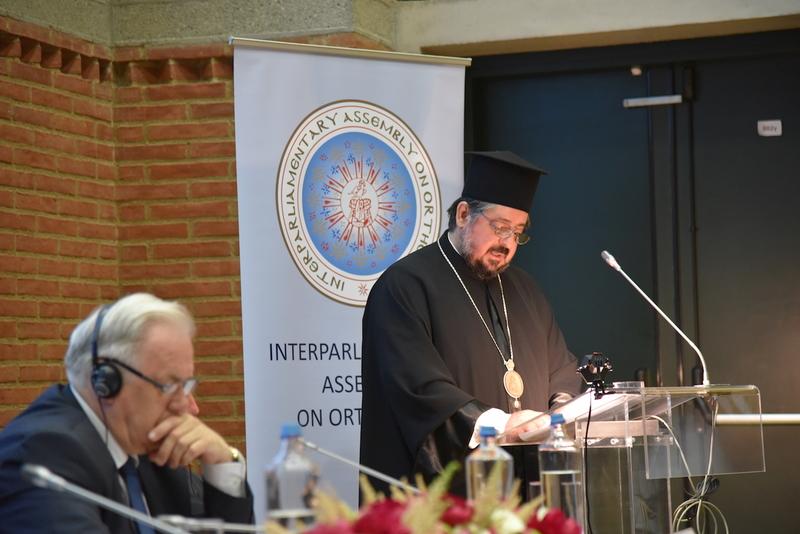 Ο Μητροπολίτης Ζάμπιας Ιωάννης στη Σύνοδο της Διακοινοβουλευτικής Συνελεύσεως της Ορθοδοξίας στη Θεσσαλονίκη