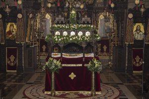 Στο όρος του Τρικόρφου πανηγύρισε η έφορος Εικόνα της Παναγίας της Τρικορφιώτισσας