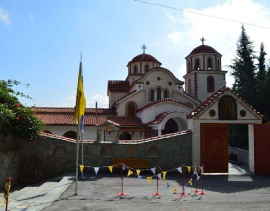 Η Ιερά Μονή του Αγίου Δημητρίου στους πρόποδες του Παγγαίου