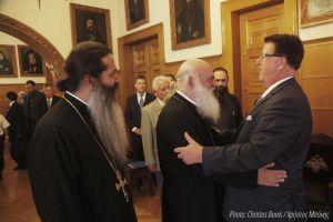 Ο Γερμανός Υπουργός Χ.Φούχτελ, στον Αρχιεπίσκοπο Αθηνών Ιερώνυμο