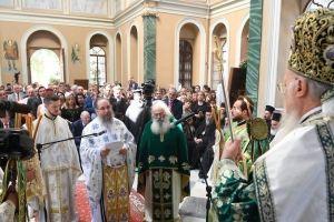 Η Χειροτονία του Επισκόπου Ερυθρών Κυρίλλου από τον Οικουμενικό Πατριάρχη στη Σμύρνη