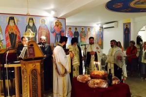 H μνήμη του Αγίου Χρυσοστόμου Σμύρνης στην Μητρόπολη Γλυφάδας