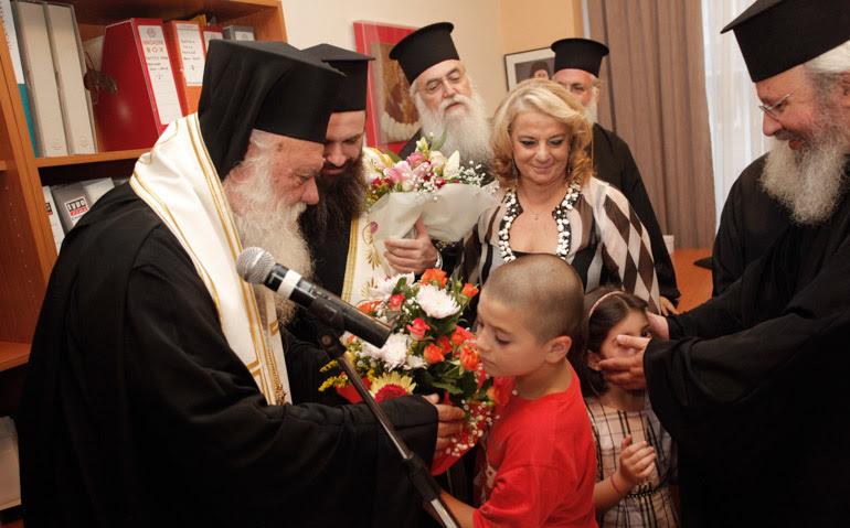 Το έργο του ΚΕΣΟ — που ίδρυσε ο Χριστόδουλος– εξήρε ο Αρχιεπίσκοπος και καλά έκανε…