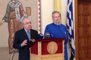 Αρχιεπίσκοπος Κύπρου Χρυσόστομος: «Οι αγώνες μας να στεφθούν από επιτυχία για το καλό του λαού»