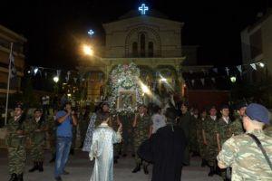 Πανηγυρικός εορτασμός στην Παναγία Γιάτρισσα στο Λουτράκι