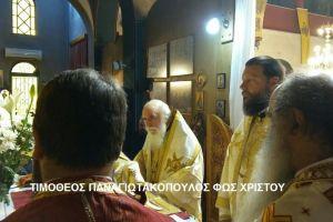 Συλλείτουργο και Μνημόσυνο Μητροπολίτου πρ. Παραμυθίας Τίτου( Ματθαιάκη)