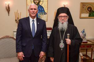 Στον Αρχιεπίσκοπο Αμερικής ο υποψήφιος Αντιπρόεδρος του Ν. Τραμπ
