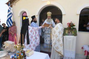 Ο Φθιώτιδος Νικόλαος στη γενέτειρα του Οσίου Δαυίδ ( Τσαλίκη)