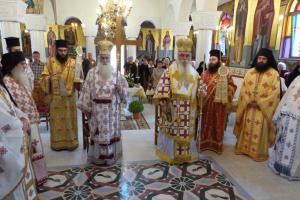 Αρχιερατικό Συλλείτουργο στον Ιερό Ναό Αγίου Νικάνορος Καστοριάς