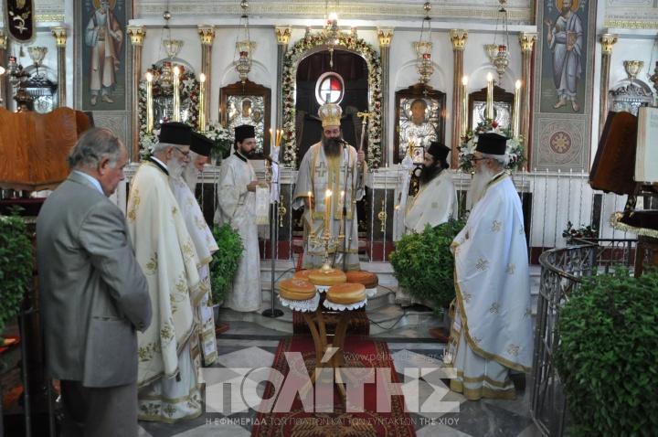 You are currently viewing Λαμπρός εορτασμός του Γενέσιου της Θεοτόκου στη Συκιάδα
