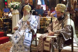 Αρχιερατικό Συλλείτουργο για την Αγία Ευφημία στη Νέα Χαλκηδόνα
