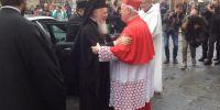 Επίσκεψη του Οικουμενικού Πατριάρχου στον Καθεδρικό του San Lorenzo της Perugia