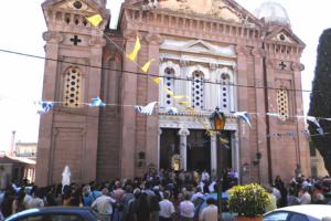 Ο εορτασμός της Παναγίας Βηματάρισσας στην Μυτιλήνη