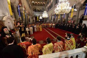 Μέγας Πανηγυρικός πολυαρχιερατικός Εσπερινός, επί τη εορτή του Προστάτου και Πολιούχου Αγίου Μεγαλομάρτυρος Δημητρίου του Μυροβλήτου στην Θεσσαλονίκη