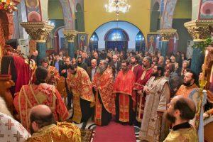 Ακολουθία του Αγίου Δημητρίου, η οποία εψάλει εις τον Ιερό Ναό του Αγίου Δημητρίου Χρυσαυγής